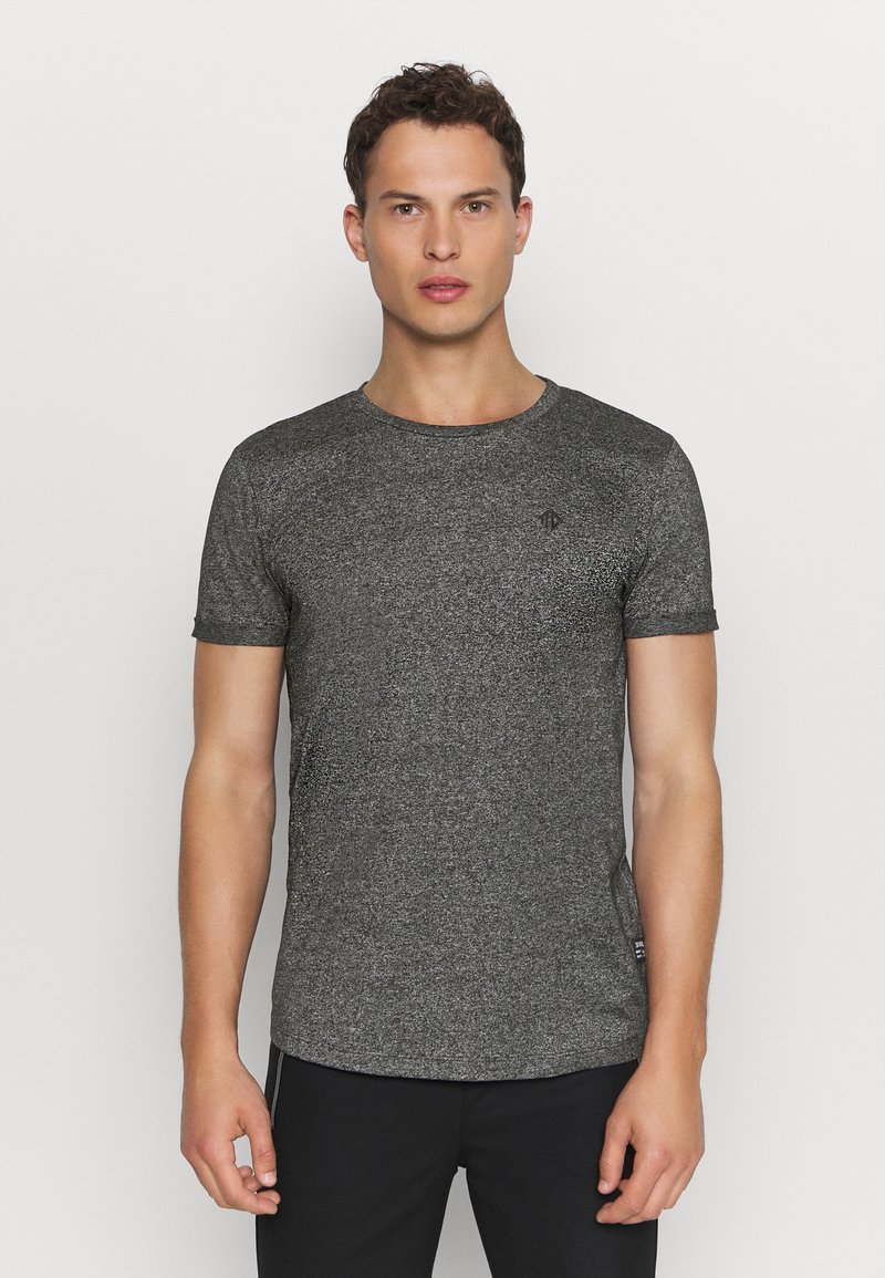 TOM TAILOR DENIM - T-shirt - bas - black