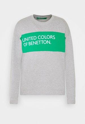 CREW NECK BIG LOGO - Sweater - light grey
