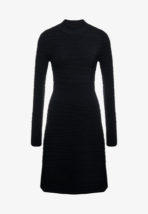 SUMEEYA - Pletené šaty - black