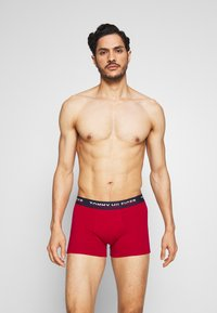 Tommy Hilfiger - TRUNK 2 PACK - Culotte - red/dark blue - 0
