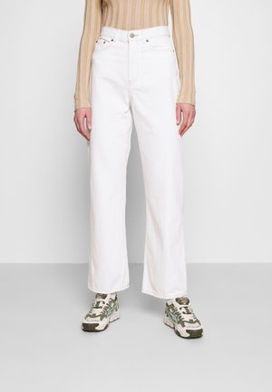 ECHO - Straight leg jeans - light ecru