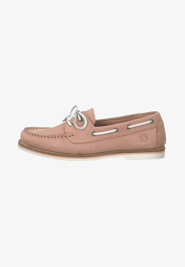 LACE-UP - Bootsschuh - light pink