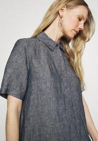 Opus - WELIKA - Shirt dress - mystic blue - 3