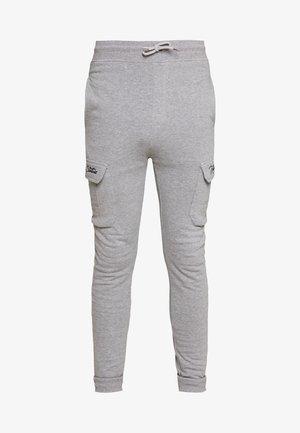 JOGGER PLAIN - Tracksuit bottoms - grey