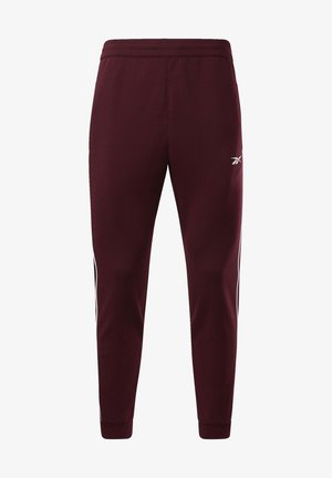WORKOUT READY JOGGERS - Tracksuit bottoms - burgundy