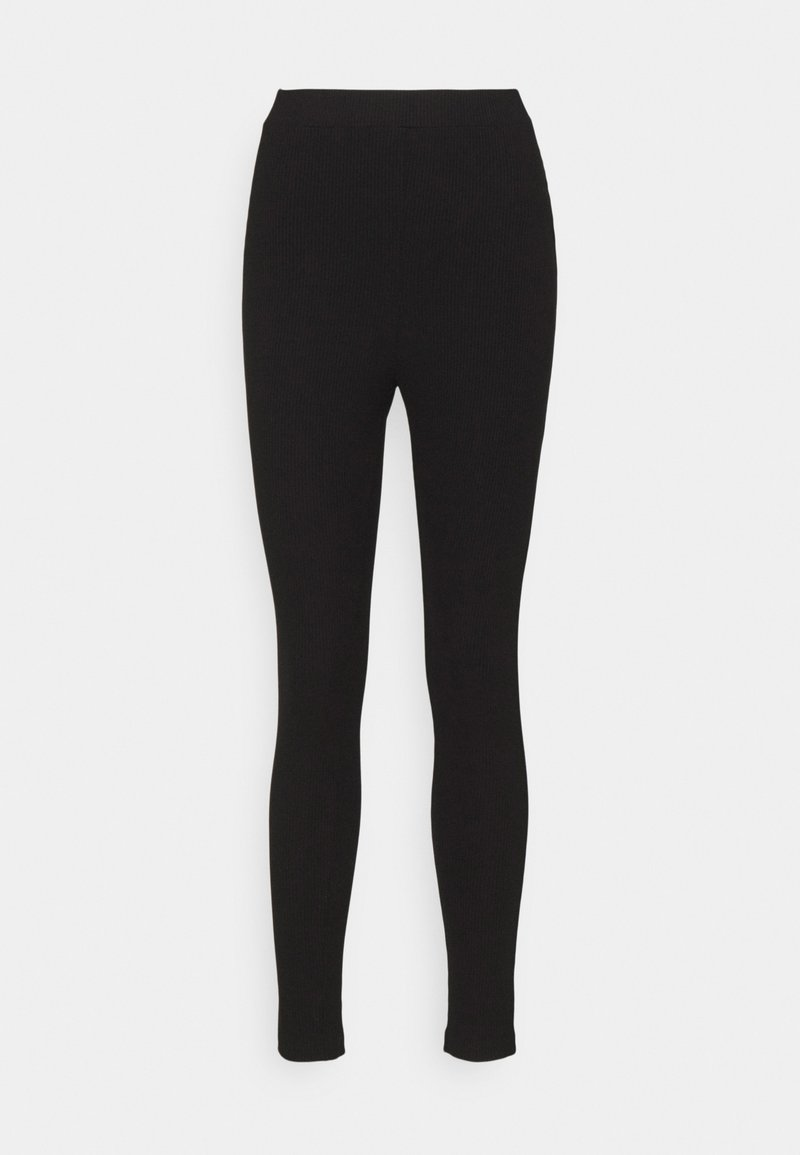 NA-KD - Leggings - Trousers - black