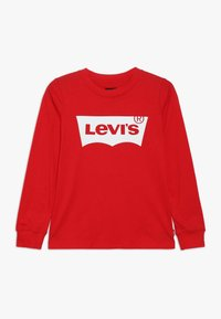 Levi's® - BATWING - T-shirt à manches longues - red/white - 0