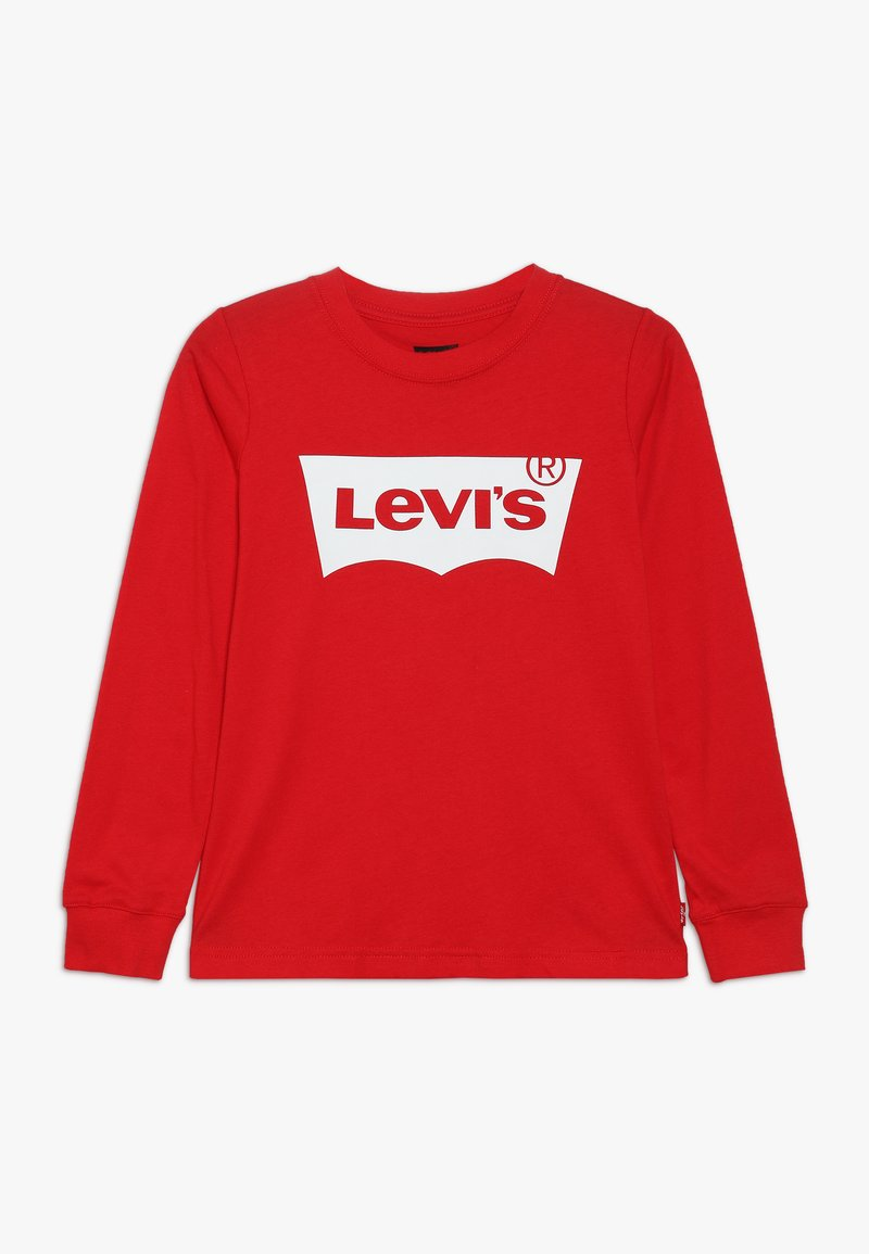 Levi's® - BATWING - T-shirt à manches longues - red/white