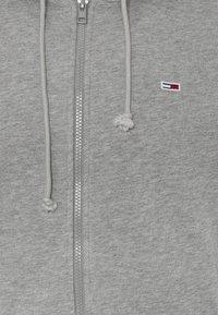 Tommy Jeans - CLASSICS ZIPTHROUGH - veste en sweat zippée - grey - 5
