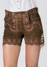 Stockerpoint - HARMONY - Leather trousers - brown - 3