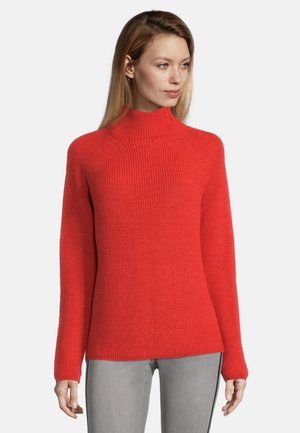 Jumper - fiery red