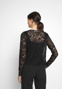 Vila - VIFAITH BOLERO - Kardigan - black - 2