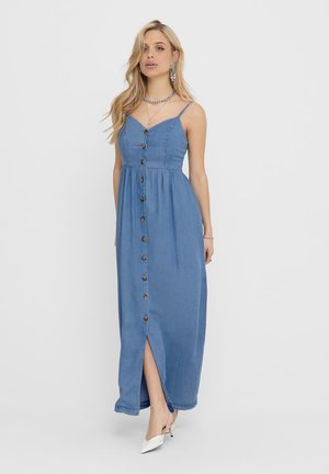 Robe longue - medium blue denim