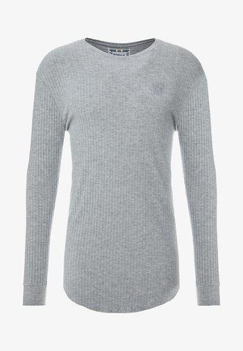 LONG SLEEVE BRUSHED GYM TEE