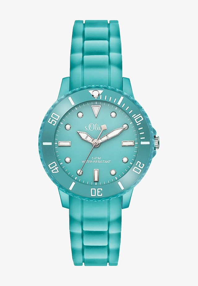 S.OLIVER  - Watch - turquoise