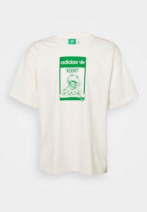 TEE KERMIT UNISEX - Print T-shirt - off-white