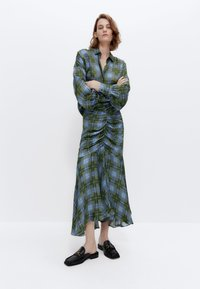 Uterqüe - A-line skirt - green - 4