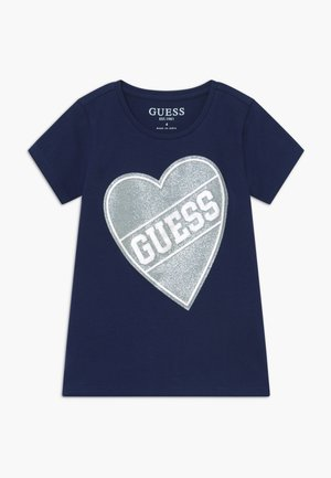 TODDLER HIGH LOW - T-shirts print - deck blue