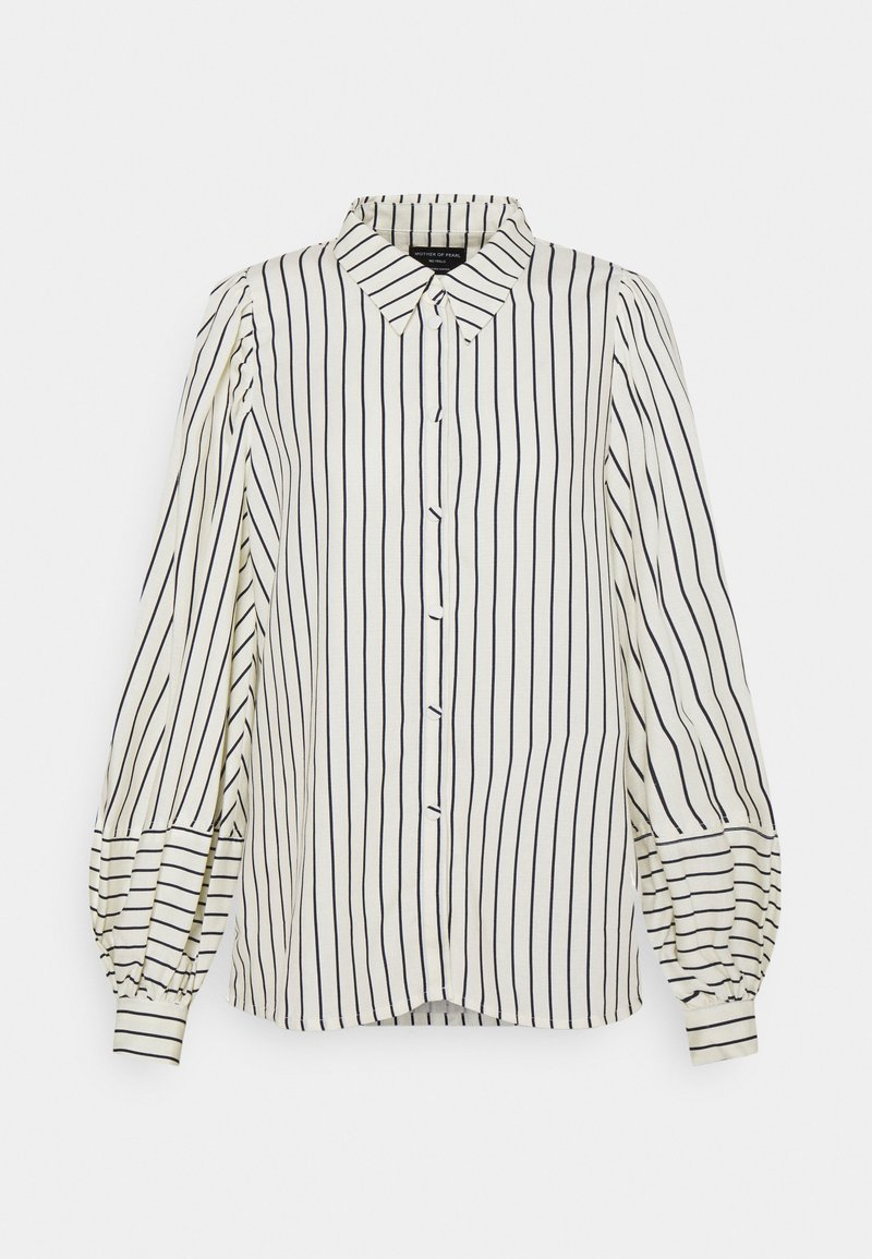 Mother of Pearl - Skjorte - navy/white stripe