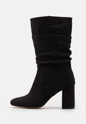 BLOCK BOOT - Boots - black