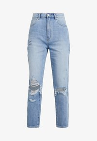 Abrand Jeans - HIGH - Straight leg jeans - wildlife - 4