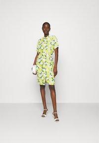 Fabienne Chapot - BOYFRIEND TESS DRESS - Shirt dress - lime lights - 1