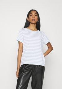 Monki - SIMBA TEE 2 PACK - T-shirts print - light blue - 1