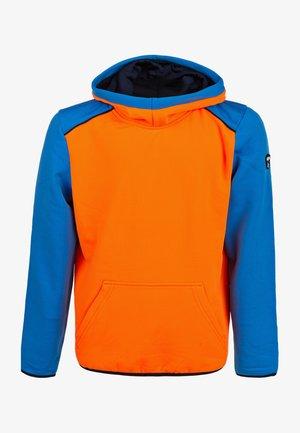 Hoodie -  shocking orange