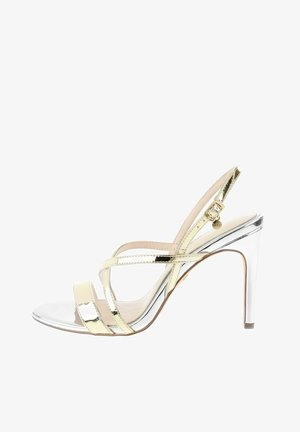 VALVERDE  - High heeled sandals - platinum