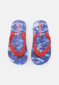 Levi's® - SOUTH BEACH UNISEX - Teenslippers - navy/red - 3