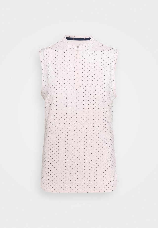 CLOUDSPUN SLEEVELESS POLKA - Top - cloud pink/navy blazer