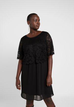 XDILIA KNEE DRESS - Cocktailkjoler / festkjoler - black