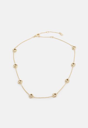 KNOT COLLAR - Necklace - gold-coloured