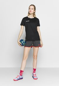 Hummel - HMLAUTHENTIC  - Print T-shirt - black/white - 1