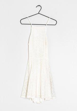Sukienka koktajlowa - beige