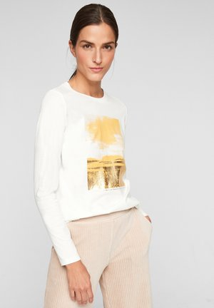 MIT WORDING - Long sleeved top - offwhite placed print