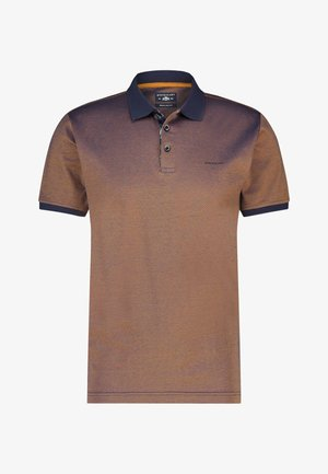 Polo shirt - brown /blue
