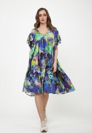 Day dress - kornblume blau  lila