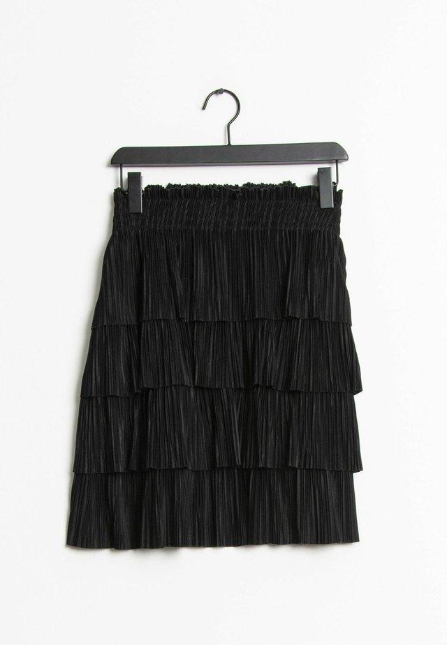 A-lijn rok - black