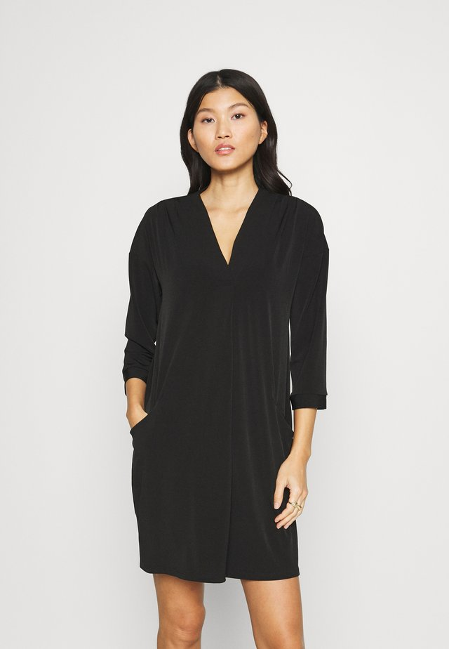 POCKET DRESS - Day dress - black