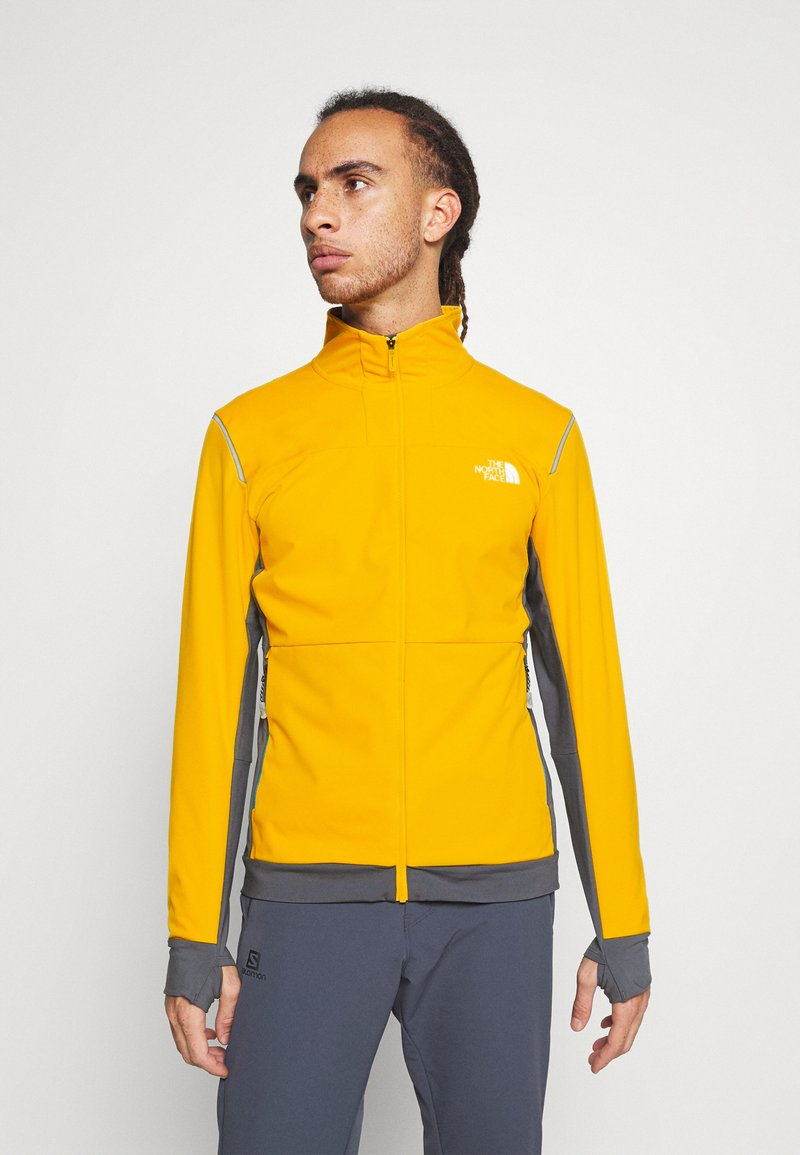 The North Face - SPEEDTOUR JACKET - Softshelljakke - summit gold/grey