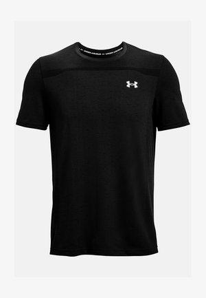 SEAMLESS SS - Print T-shirt - black