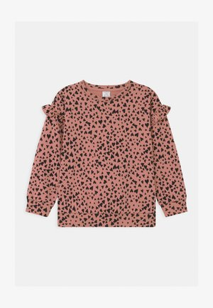 HEART PRINT - Sweatshirt - dusty pink