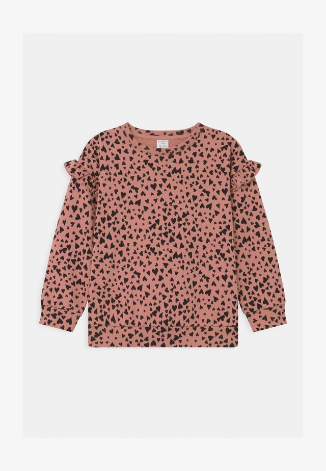 HEART PRINT - Sweater - dusty pink