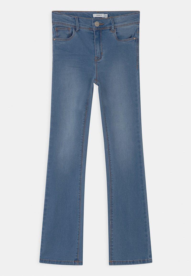 Name it - NKFPOLLY - Bootcut jeans - medium blue denim