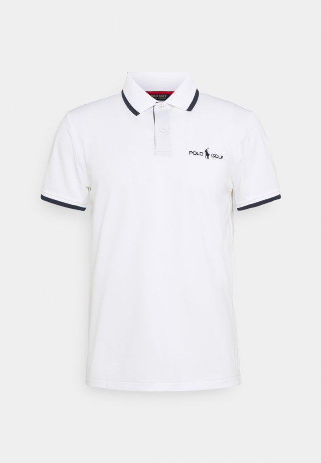 SHORT SLEEVE - Polo - classic oxford white