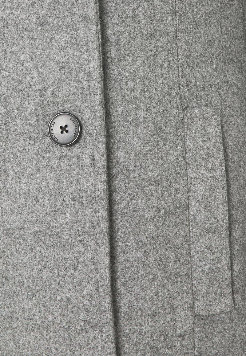 s.Oliver Wollmantel/klassischer Mantel - grey/grau DNsDwi