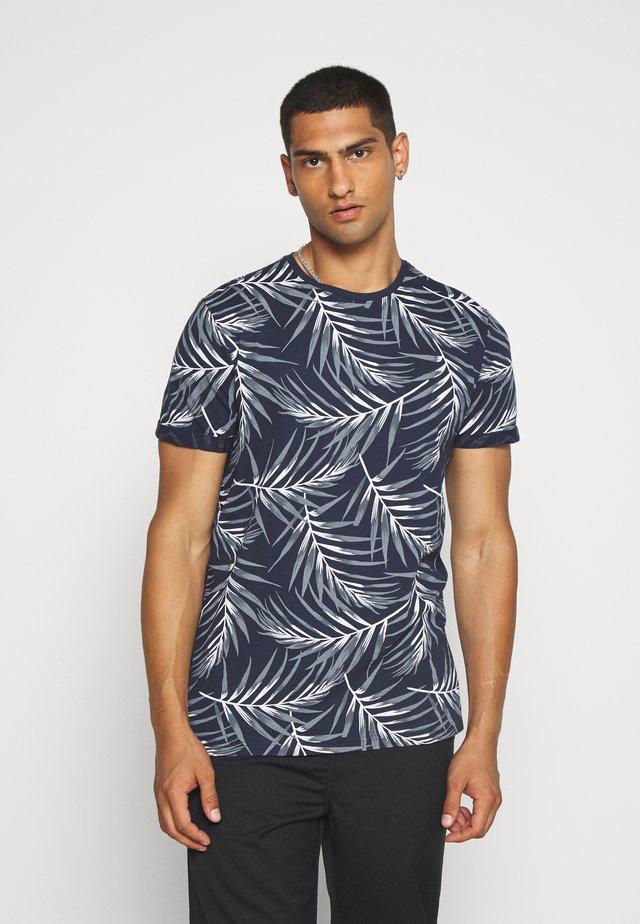ONSIASON SLIM TEE - T-shirt print - blue