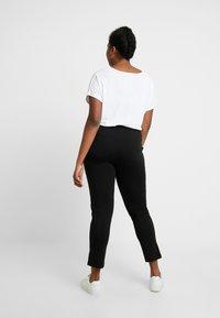 Kaffe Curve - KIA 7/8 PANTS - Trousers - black deep - 2