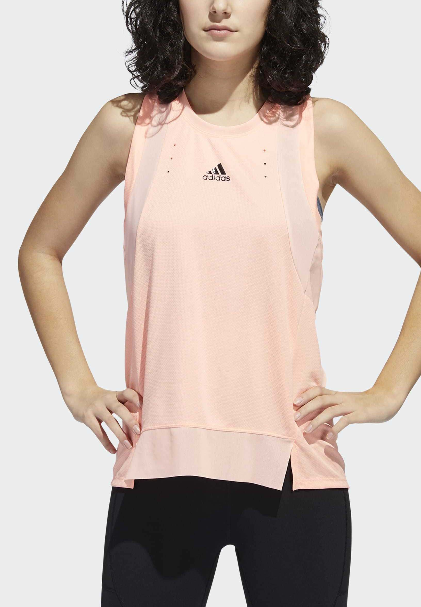 adidas Performance HEAT.RDY TRAINING TANK TOP - Top - orange 4wWHH
